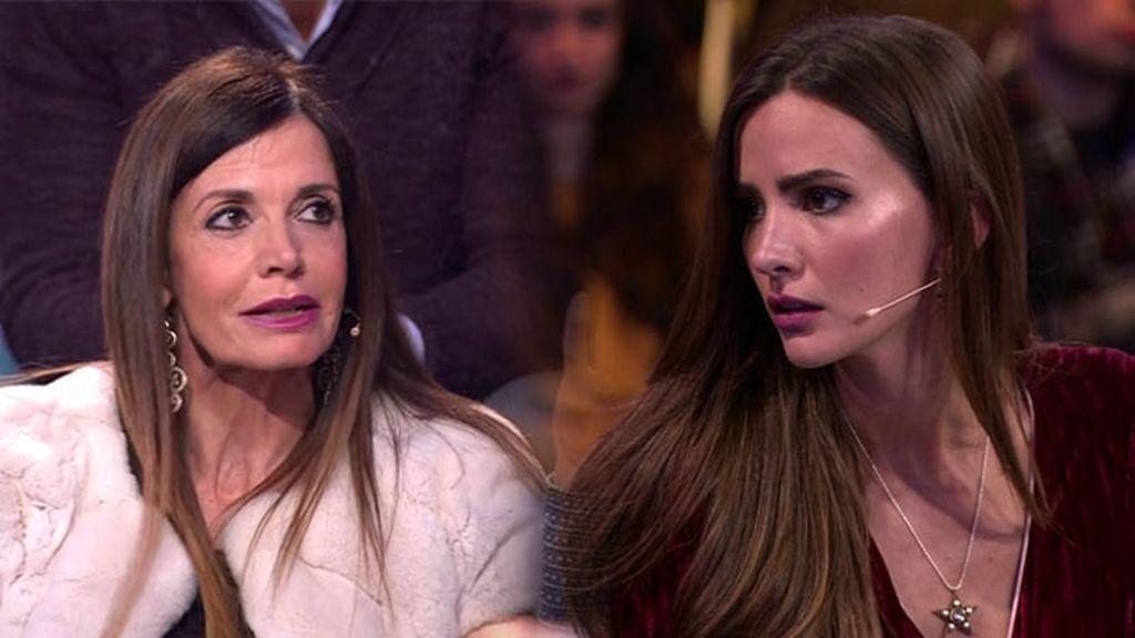 Viviana y Aylén no ven celos en la mirada de Marco cuando ve a Alyson y Antonio juntos