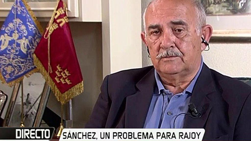 """Garre cree que Rajoy debería haberse marchado """"hace mucho tiempo"""""""