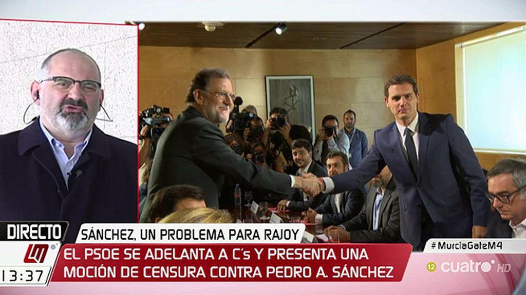 """Losada: """"C's intentaba hacer una jugada magistral pero el PSOE se ha adelantado"""""""