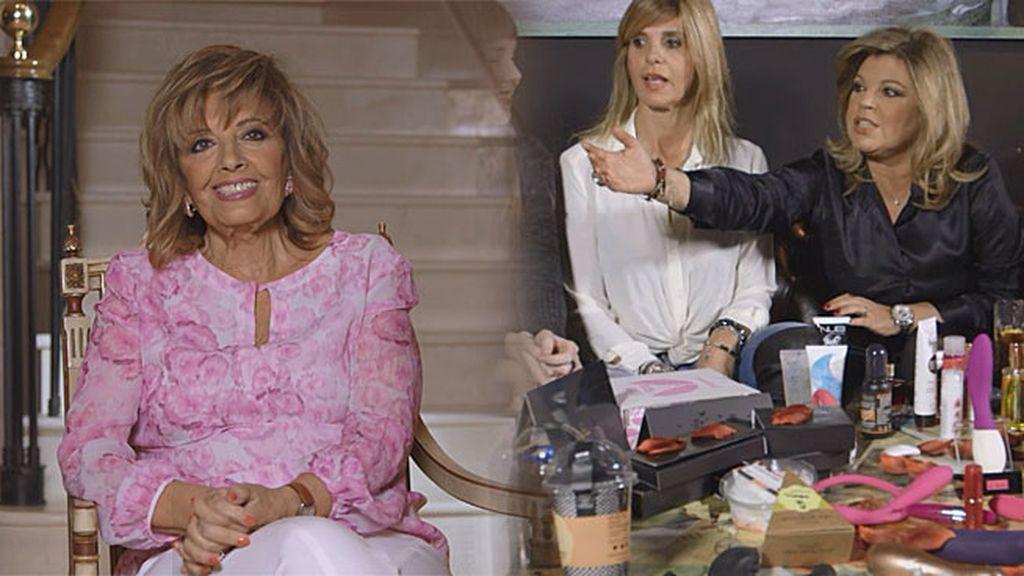 """María Teresa Campos: """"Yo estoy totalmente a favor de los 'folla amigos'"""""""