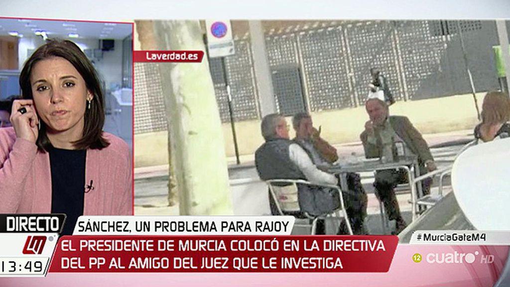 """I. Montero: """"Cuando gobierna, el PP prefiere el modelo de la mafia del canapé"""""""