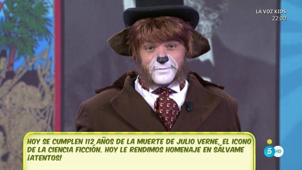 ¡Gustavo González se convierte en Willy Fog!