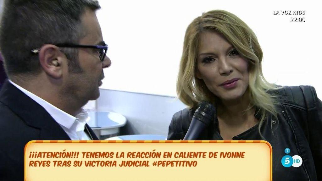 """Ivonne, tras ganarle la batalla a Pepe Navarro: """"Desde el minuto cero tengo mi verdad"""""""