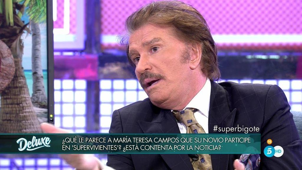 """Bigote, sobre 'Supervivientes': """"María Teresa me dijo que no tenía por qué pasar fatigas"""""""