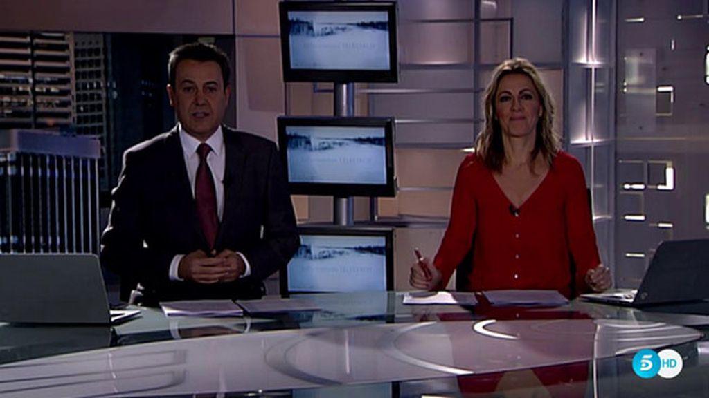 Informativos Telecinco apaga la luz en la Hora del Planeta