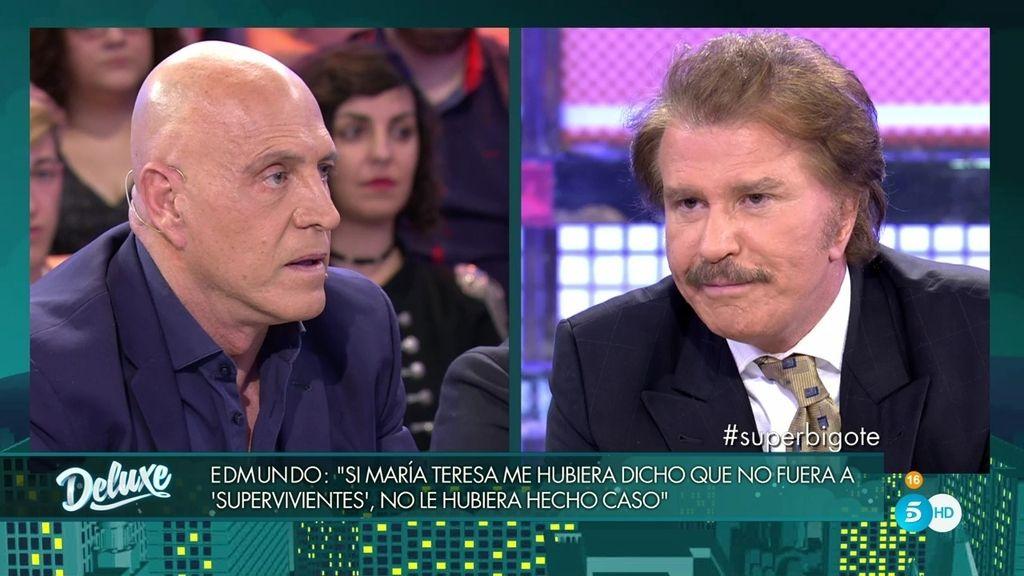 """Matamoros a Bigote: """"¿Cuánto dinero te ha generado ser novio de M. Teresa Campos?"""""""