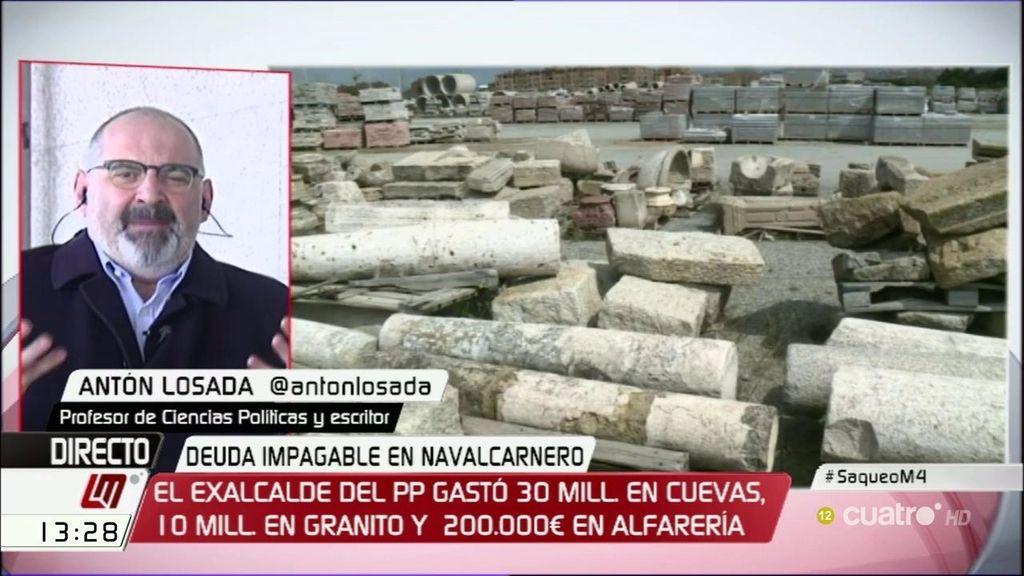"""Losada: """"Navalcarnero se ha convertido en la nueva zona cero de la corrupción"""""""