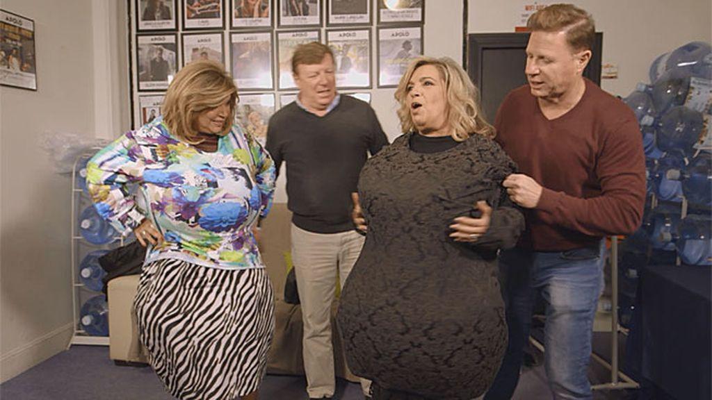 ¡¡Los Morancos transforman a Terelu y a Carmen en Antoña y Omaita!!