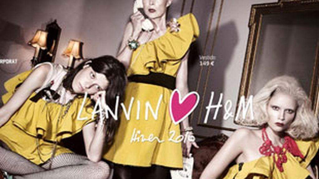 H&M lanza su colección Lanvin for H&M.