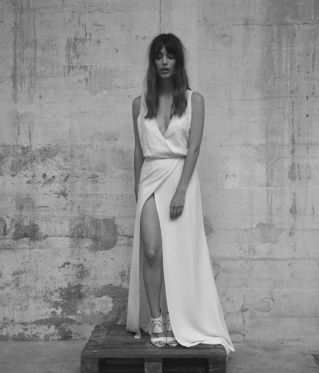 Vestidos para novias que huyen de la etiqueta novia