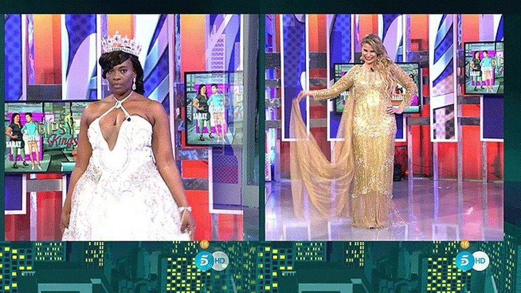¡Los 'Gipsy Kings' hacen un cambio de look a Carolina Sobe y María Lapiedra!