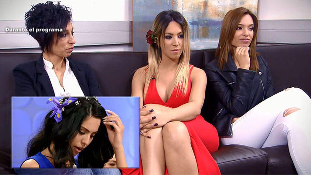 """Melani, a Diego tras ser expulsada en la final: """"El trono se lo hemos llevado Alba y yo"""""""