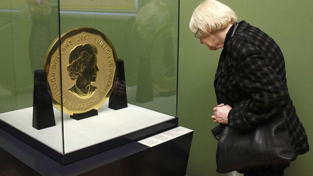 Roban la mayor moneda de oro del mundo de un museo de Berlín