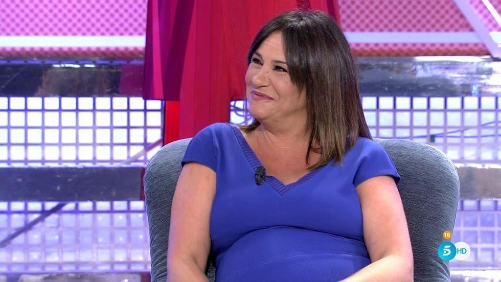 "Melani Olivares: ""No me gusta estar embarazada, he engordado 25 kilos"""