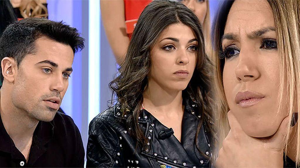 """Diego, a Melani: """"Me pareces una maleducada, pero no te voy a responder"""""""