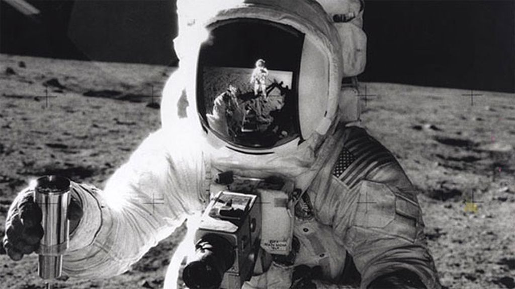 Alan Bean en la Luna