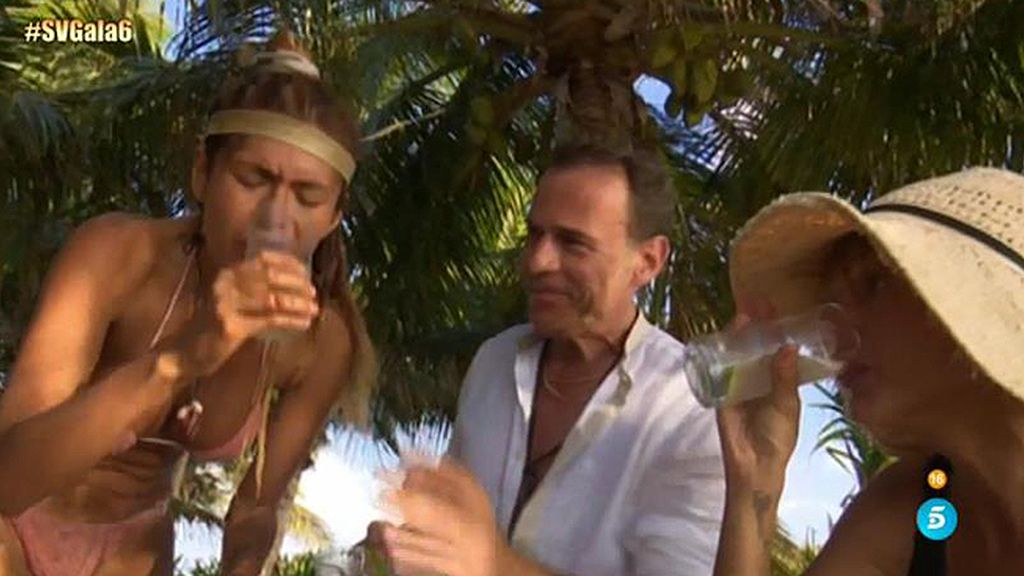 Yurena, Carlos y Miriam, un trío muy hambriento
