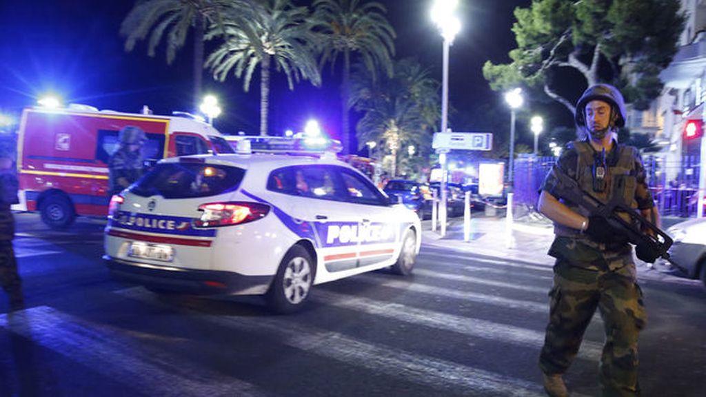 Primeras imágenes del atentado de Niza