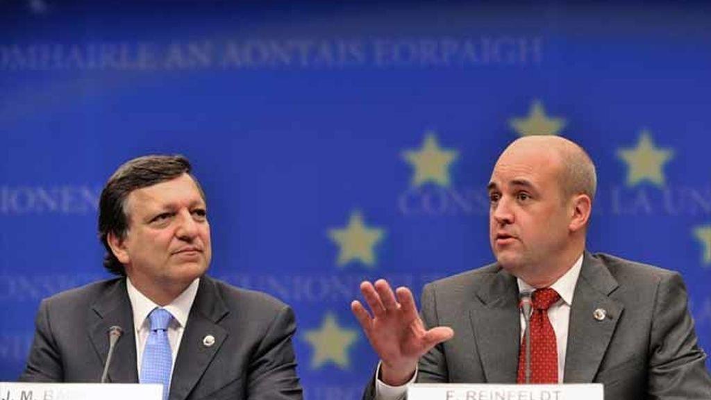 Barroso y Reinfeldt