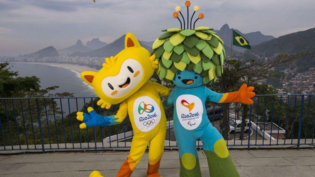 Vinicius y Tom, representan la fauna y la flora de Brasil en los JJOO de Río 2016
