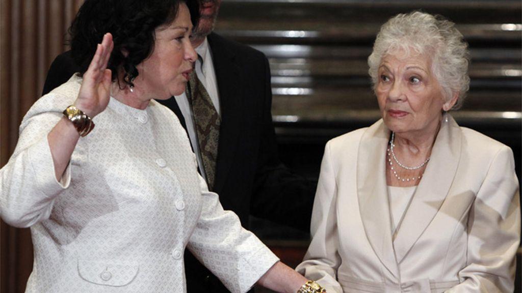 Sonia Sotomayor jura su cargo