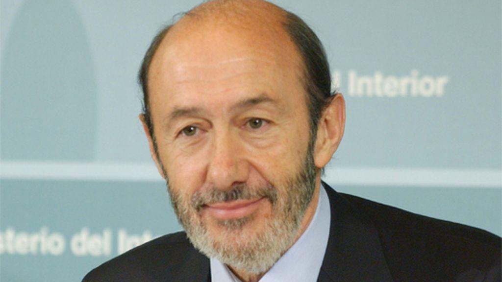 ALFREDO PÉREZ RUBALCABA, MINISTRO DE INTERIOR.