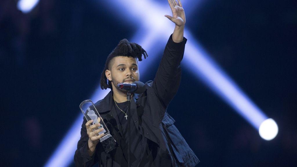 El vocalista de 'The Wekeend' en los IHearRadio Music Awards