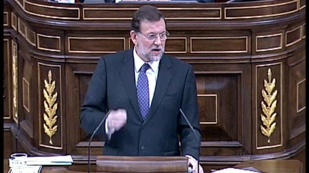 Reacción de Rajoy a los planes de Zapatero