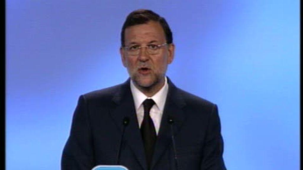 """Rajoy: """"El fin de ETA está más cerca que nunca"""""""