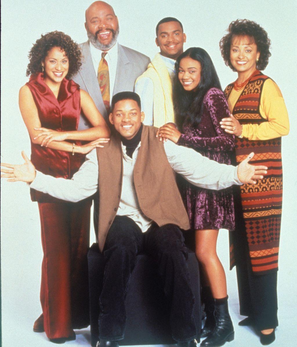 Familia Banks en los 90