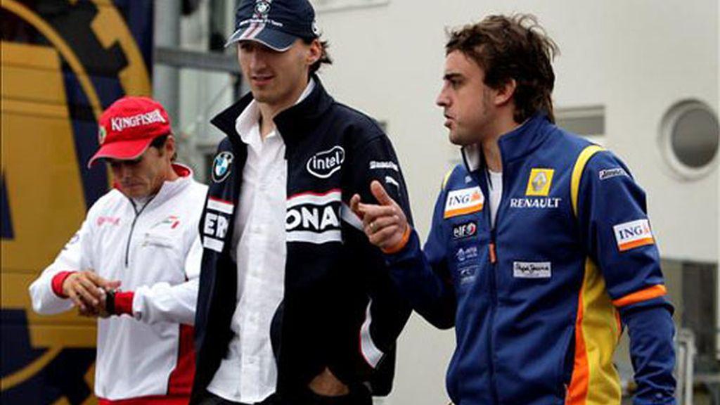 Alonso saldrá en quinta posición