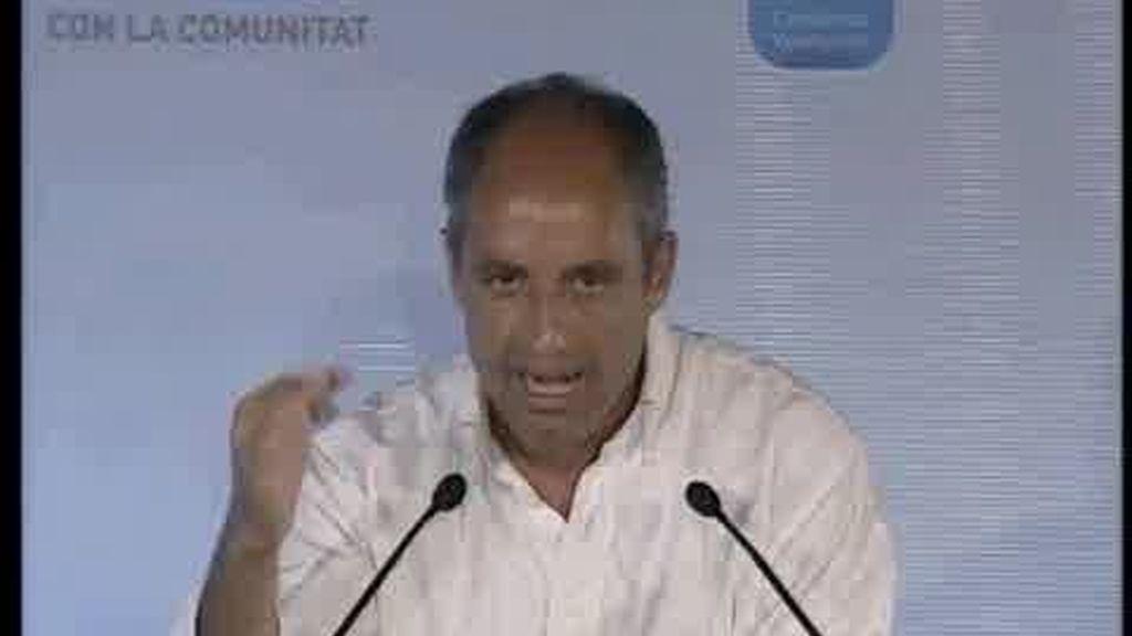 Camps candidato a la Generalitat