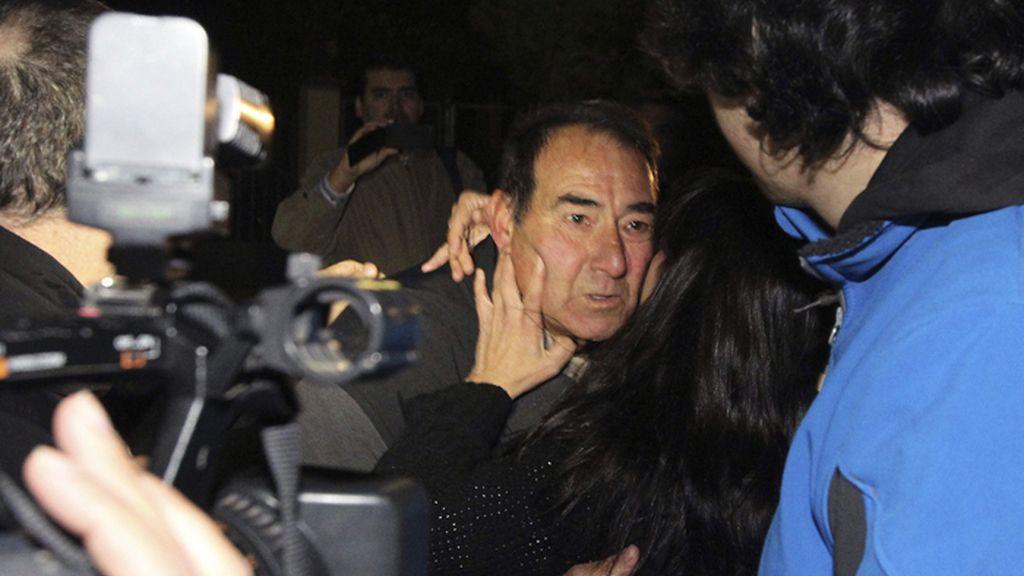 El etarra Gonzalo Rodríguez Cordero sale de la prisión de Herrera de la Mancha, en Ciudad Real