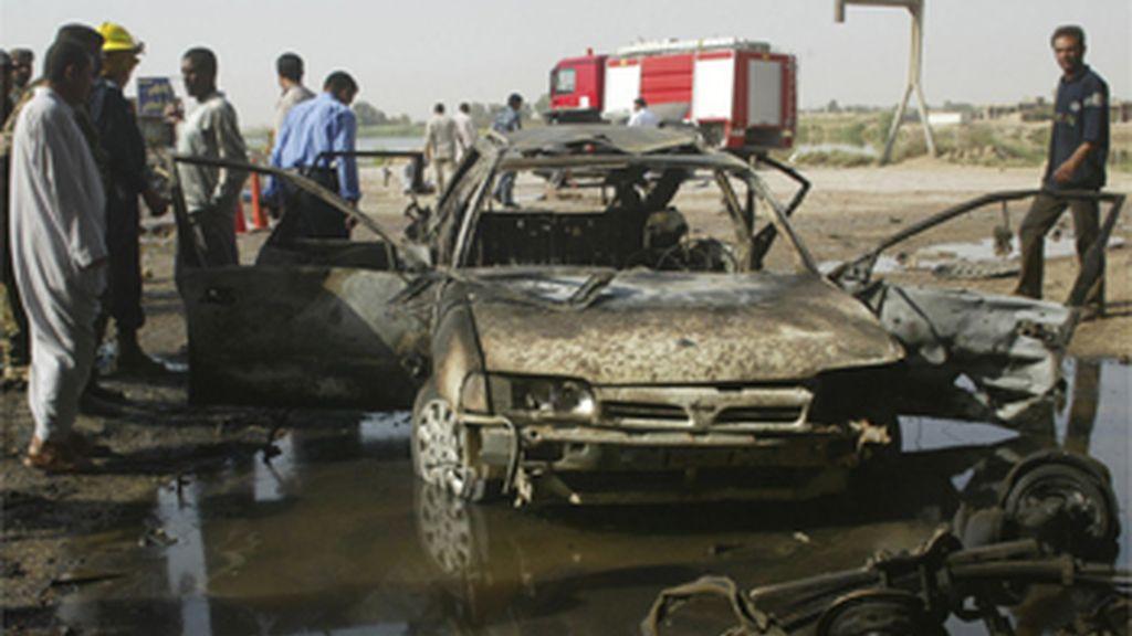 Ataque suicida contra un puesto de control en Irak