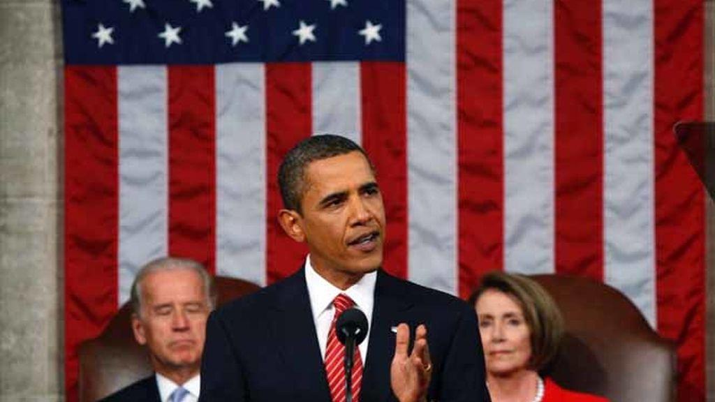 Obama en el Congreso de EEUU