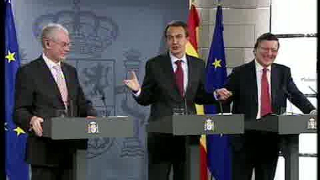Los tres dirigentes de la UE trabajan juntos ?de manera coordinada?