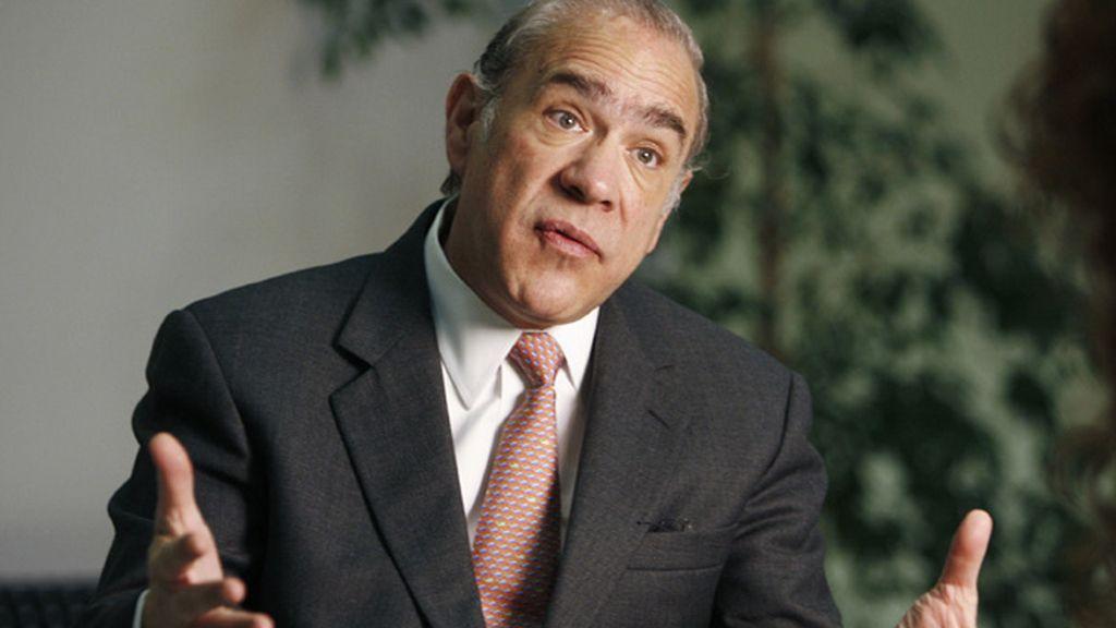 Ángel Gurría, secretario general de la Organización para la Cooperación y el Desarrollo Económico (OCDE)