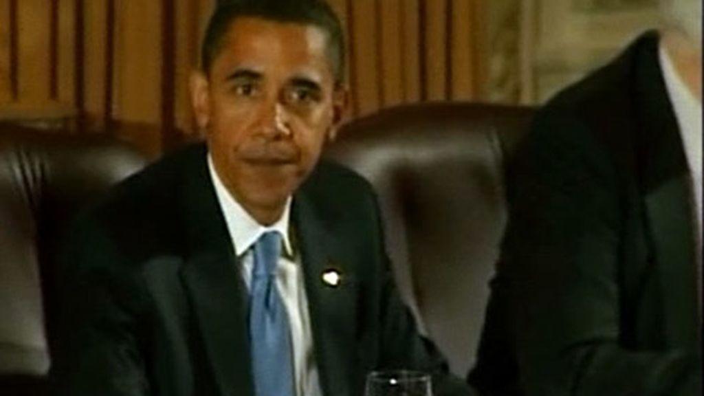 """Obama hará """"todo lo necesario"""" para combatir la crisis"""