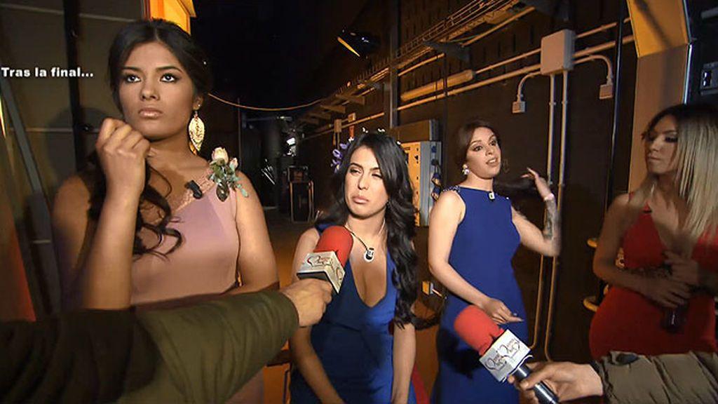 Imágenes inéditas: Alba estalla contra Melani, Daniela y Marta tras la gran final de Diego
