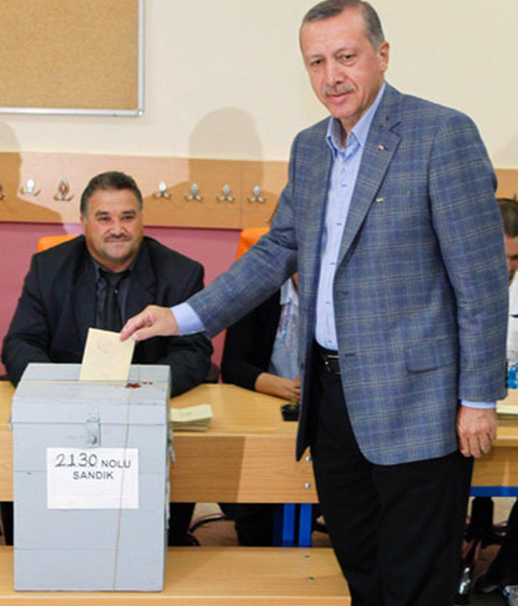 Votación del referendum en Turquía