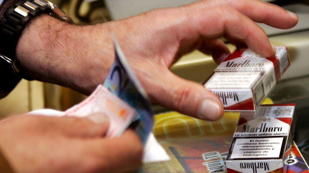 Comprando tabaco