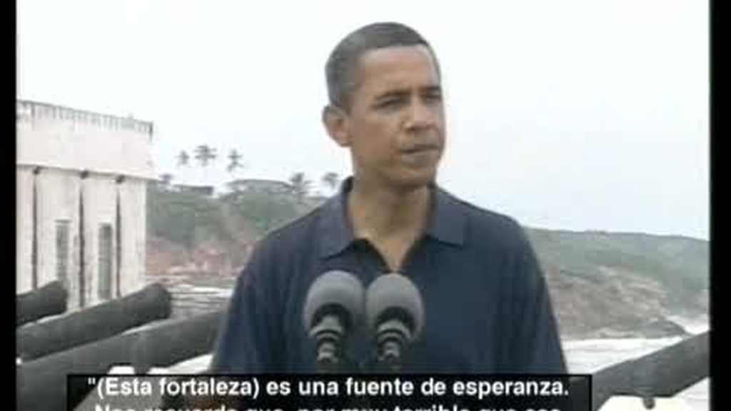 Obama visita por primera vez Ghana