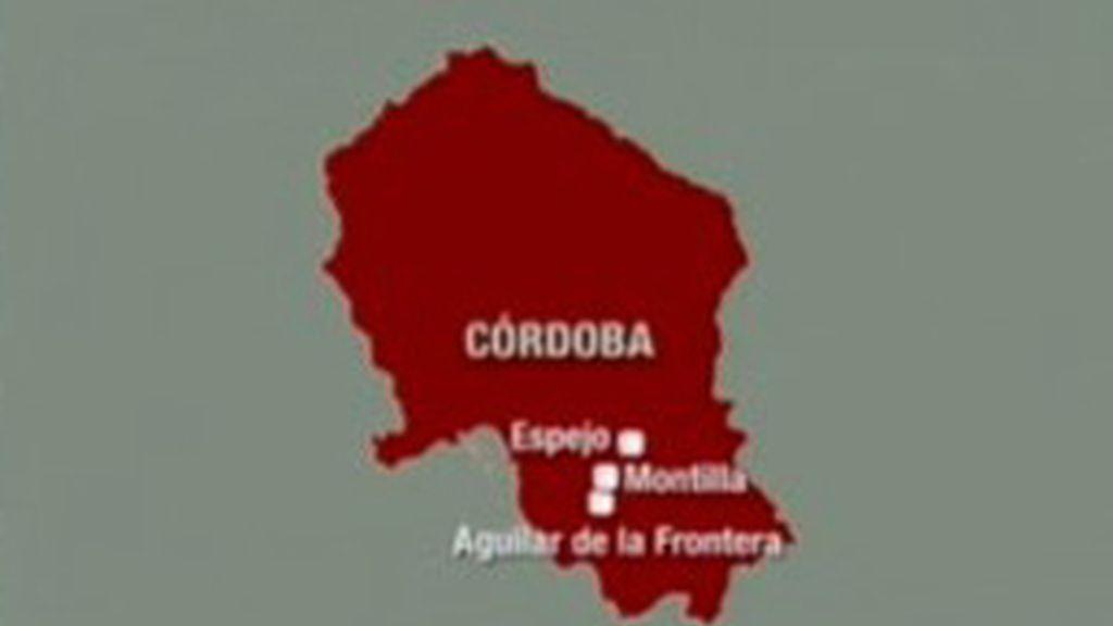 Mapa de Córdoba