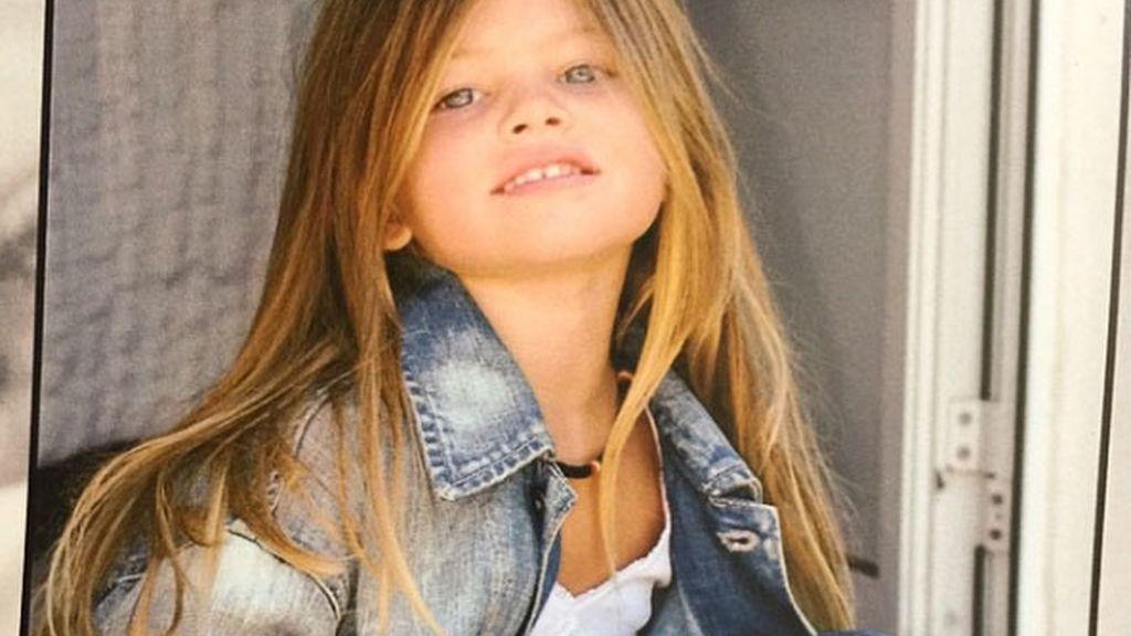 "Hace seis años Thylane Blondeau ostentaba el título de ""la niña más guapa del mundo"""