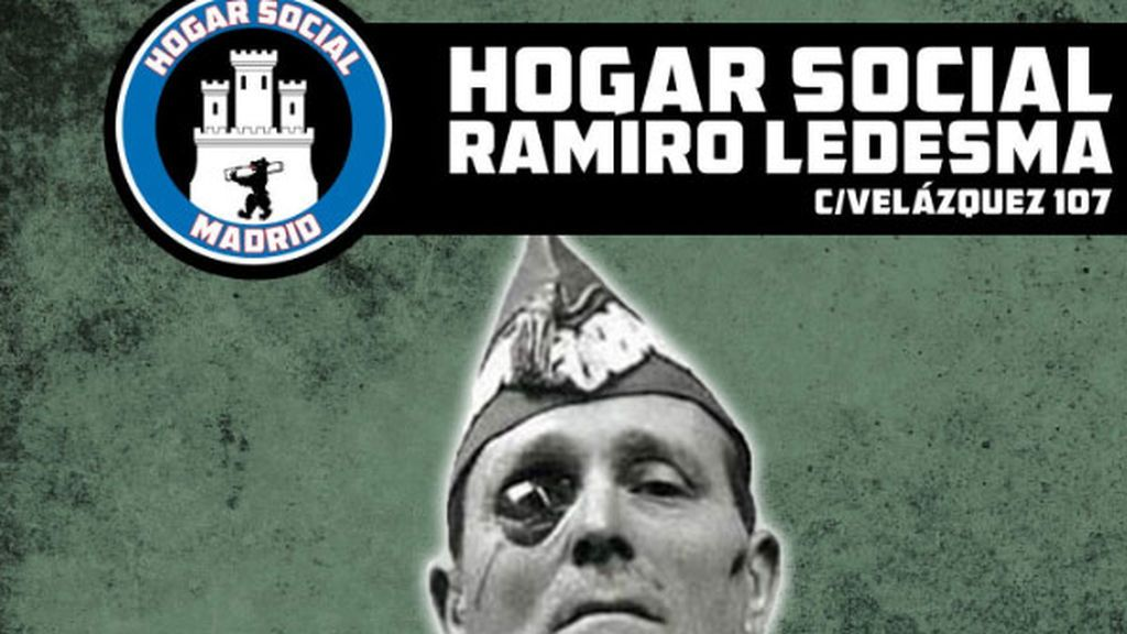 Vuelven a desalojar a los neonazis del Hogar social Madrid