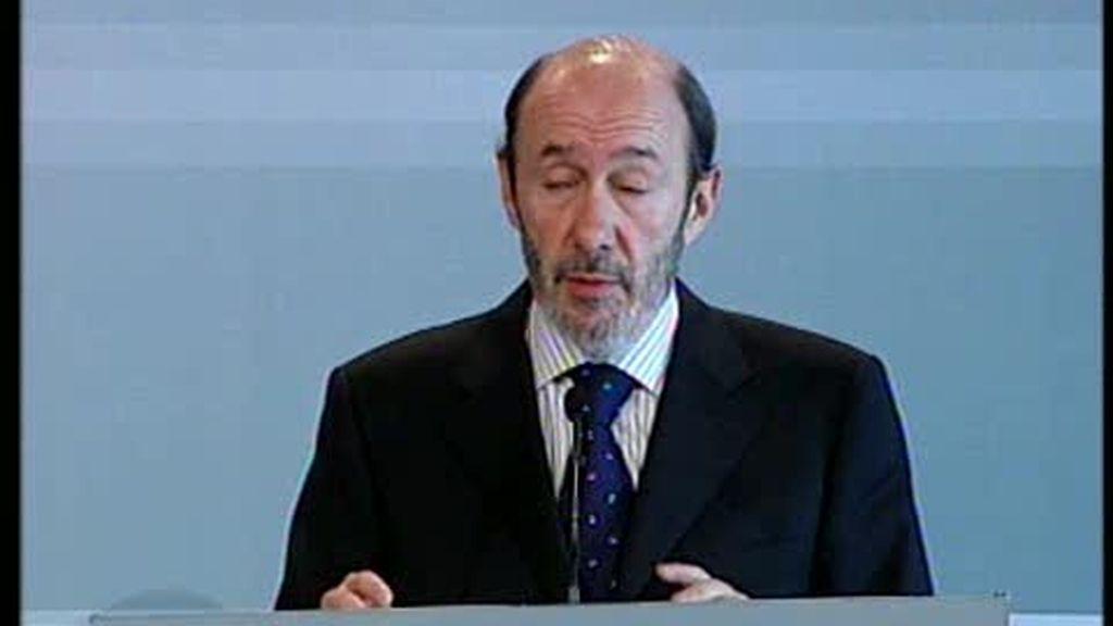 Rubalcaba explica los detalles de la operación contra ETA