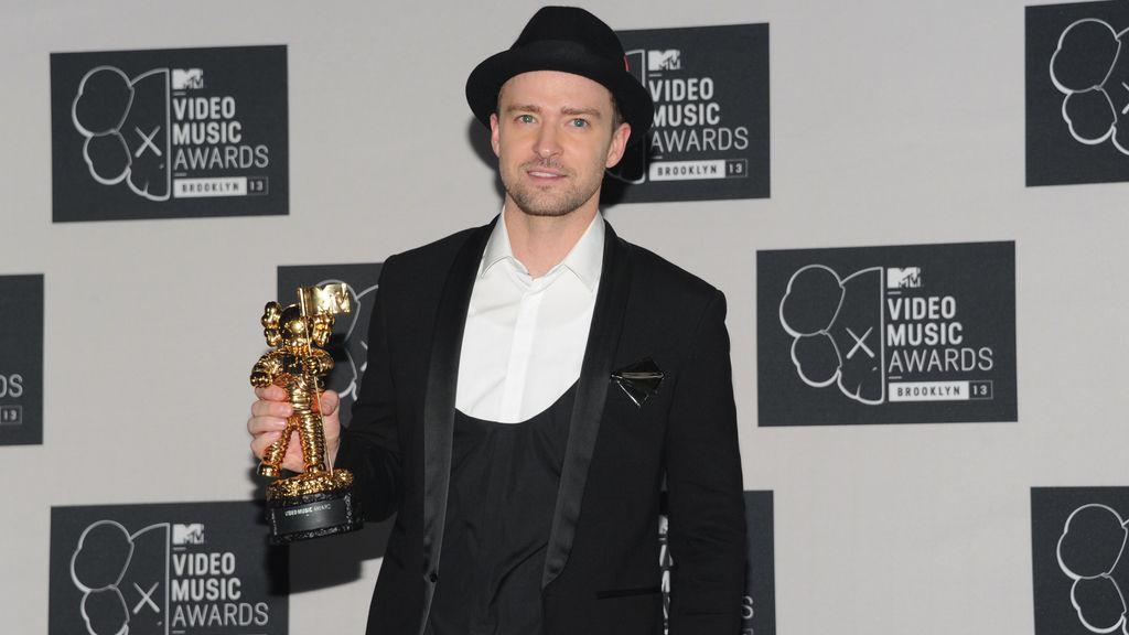 Timberlake triunfa en los premios MTV con 'Mirrors'