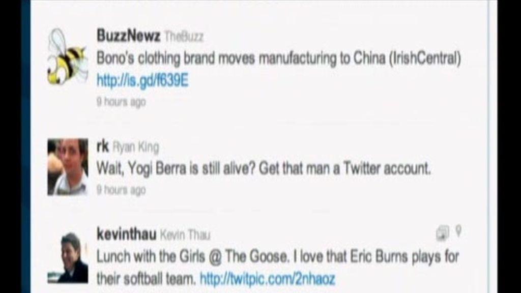 Twitter, la red de los famosos