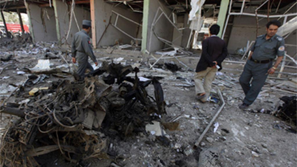 Bombardeo de la OTAN en Afganistán