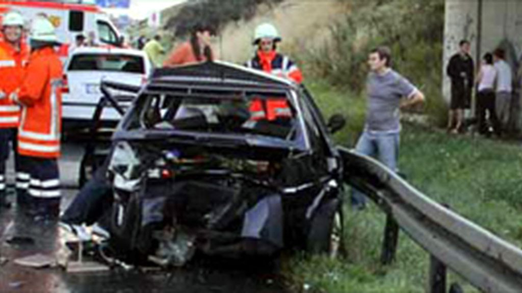 Un accidente de tráfico cuesta la vida a un bebé de seis meses y un niño de dos años en Burgos